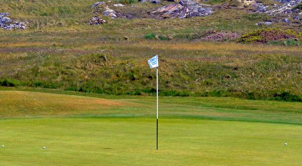 Nature truly is the best architect when it comes to the Connemara course
