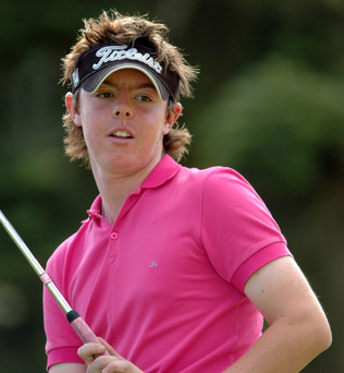 Rory McIlroy cut his teeth in Mullingar Scratch Cup. Photo: Backbench