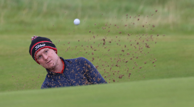 Geoff Lenehan at the AIG Irish Amateur Close Championship Picture: Jenny Matthews/Newsfile