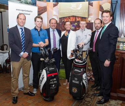 The launch of the Volopa Irish Challenge hosted by Mount Wolseley Picture: Dermot Kelly