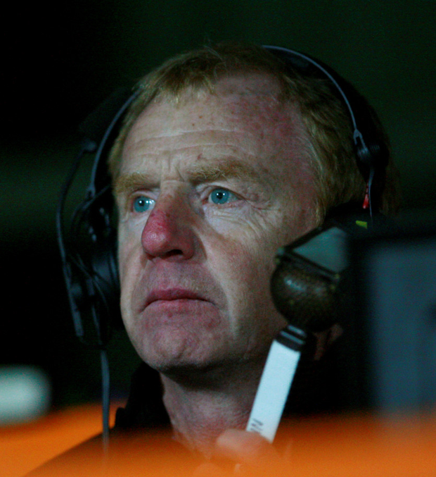 David Fairclough commentating. Photo: Getty Images