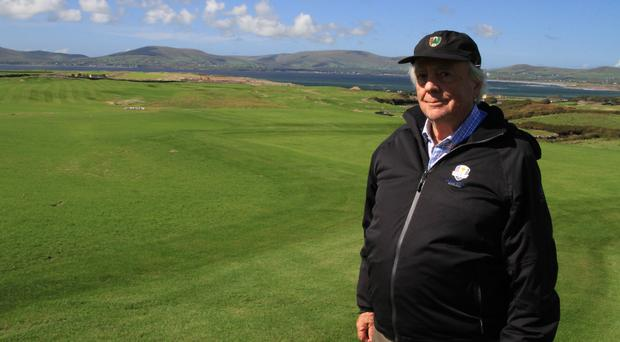 Renowned course designer Robert Trent Jones Jnr is determined to put his own stamp on Hogs Head GC, with 250,000 cubic metres of earth already moved since March