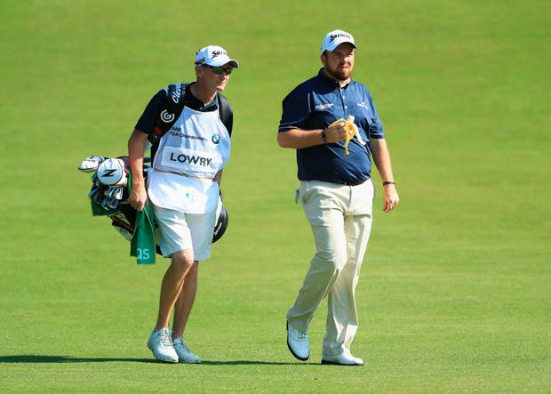 Shane Lowry and caddy Dermot Byrne are to split