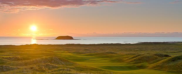 Ballyliffin Golf Club in Donegal