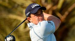 Paul Dunne faces a stiff challenge this weekend to secure a place at the Masters. Photo: Getty