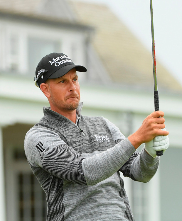 Stenson. Photo: Getty Images