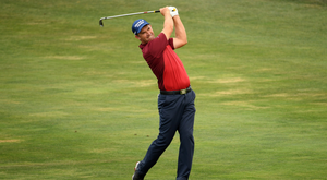 Pádraig Harrington is playing great golf at the Czech Masters in Prague. Photo: Getty Images