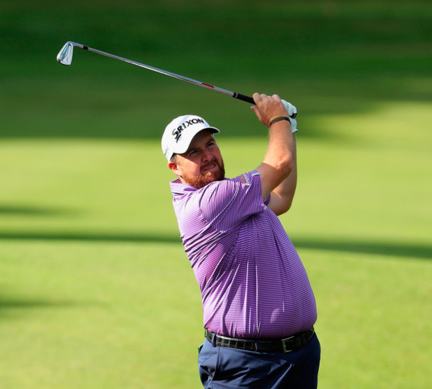 Shane Lowry during yesterday's pro-am ahead of the Turkish Airlines Open. Photo: Getty