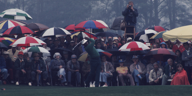 In 1975, Lee Elder became the first black player to compete in the Masters, before going on to make five further Augusta appearances. Photo: Getty Images