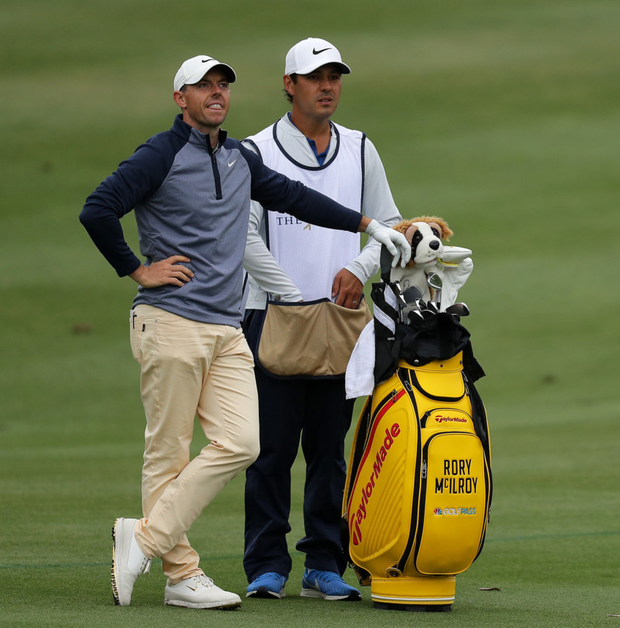 Rory McIlroy on Harry Diamond: 'People just think he's my best friend and I got him on the bag because I didn't want to listen to anyone else. But that's not true'. Photo: Getty