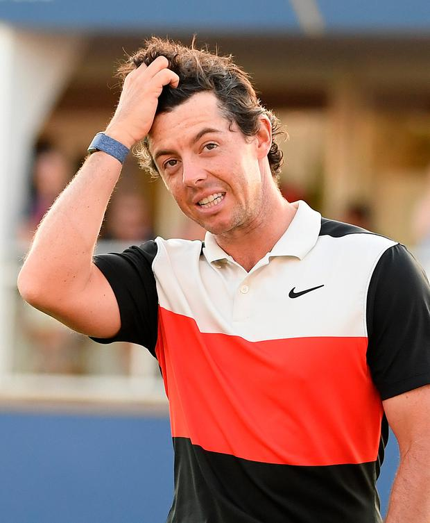 Rory McIlroy is 'still in with a shout'. Photo: Getty Images