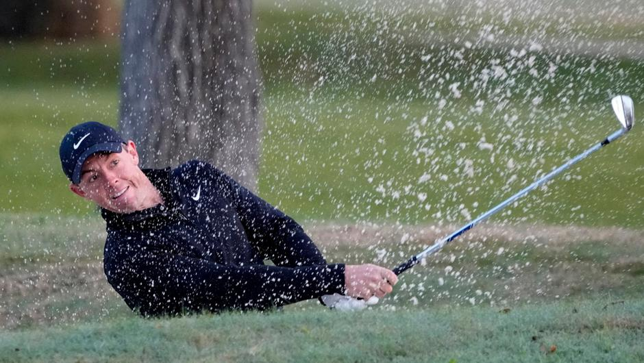 Rory McIlroy was soundly beaten by Ian Poulter in his opening matchplay tie. Image creidt: PA.