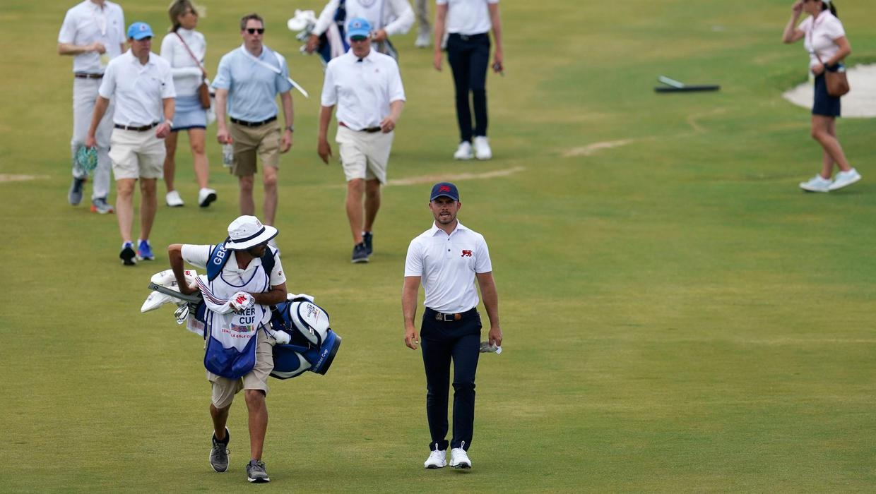 Mystery illness and rain dampens Walker Cup spirits