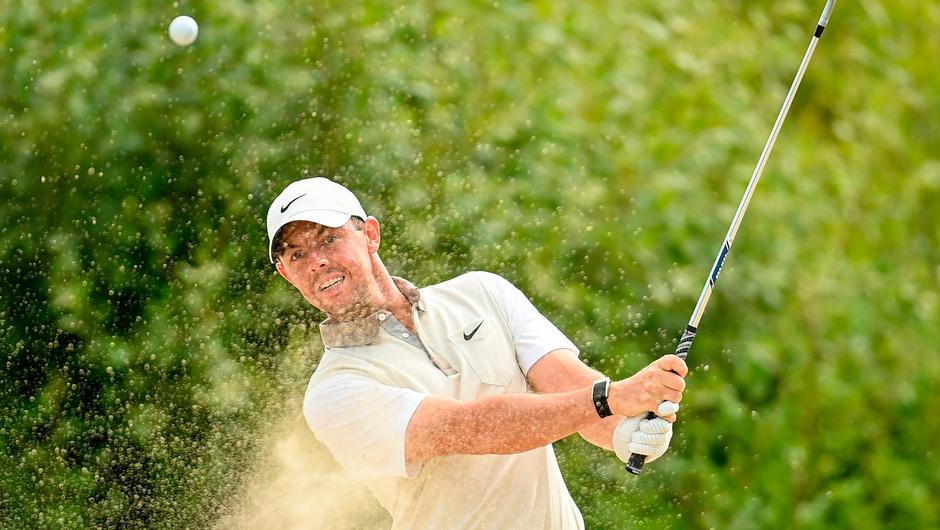 Rory McIlroy's wedge play was his downfall at Mount Juliet. Credit: Sportsfile