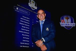 Europe's Ryder Cup captain Paul McGinley