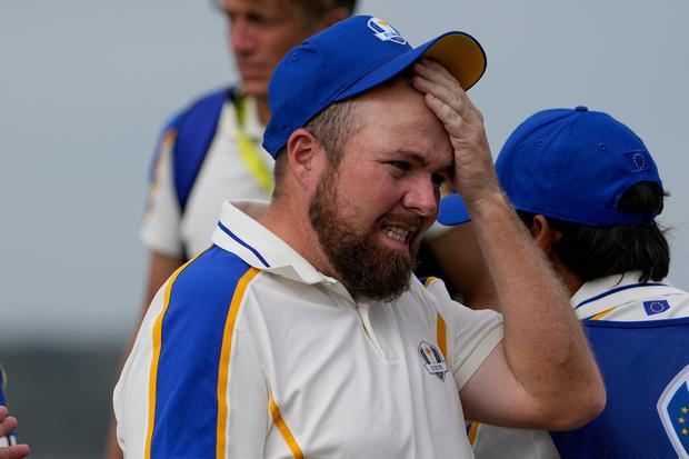 Shane Lowry wants another go at the Ryder Cup. Photo: AP