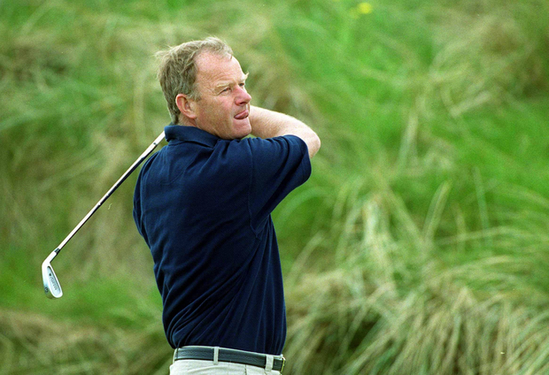 Family matter: Barry Reddan has golf in the genes