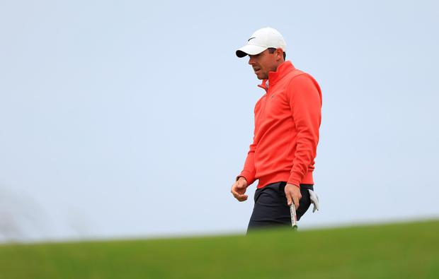 Rory McIlroy is thinking positive ahead of The Open despite a missed cut at Scotland last weekend. Photo: Getty Images