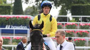 Jim Crowley has a bad fall at Doncaster and was taken to hospital