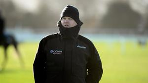 Meath trainer Gordon Elliott is unlikely to be at Cheltenham. Photo: Sportsfile
