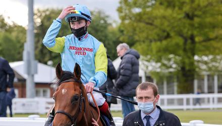 Set for success: David Egan will again be in the plate when Roger Varian's Nagano goes for glory at Goodwood this afternoon. Photo: Racing Post