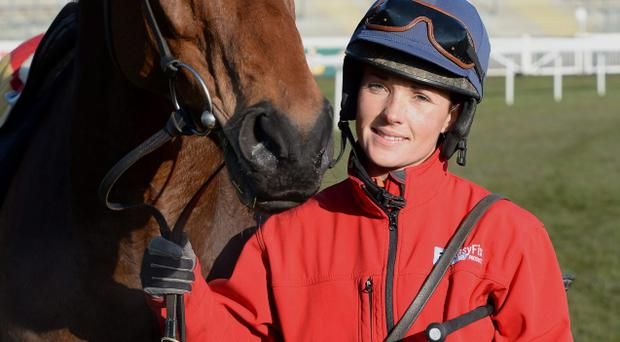 Katie Walsh with Seabass