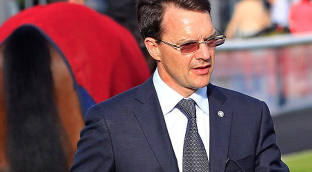 Aidan O'Brien trainer. Picture: Julien Behal/PA Wire.