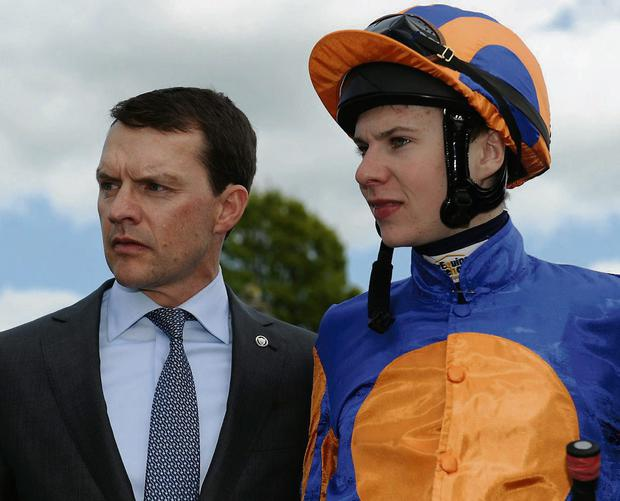 Aidan O'Brien and son Joesphn O'Brien were in double-winning form at Fairyhouse