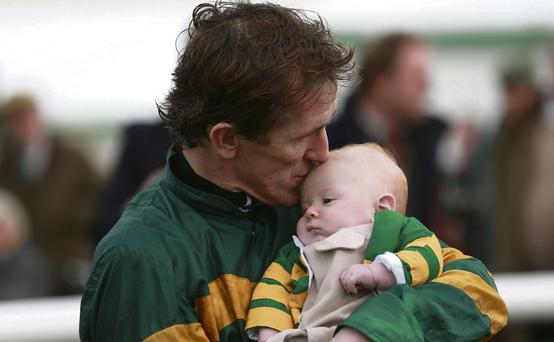 AP McCoy with Archie last year
