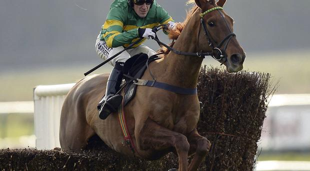 Pendra and Tony McCoy on their way to victory