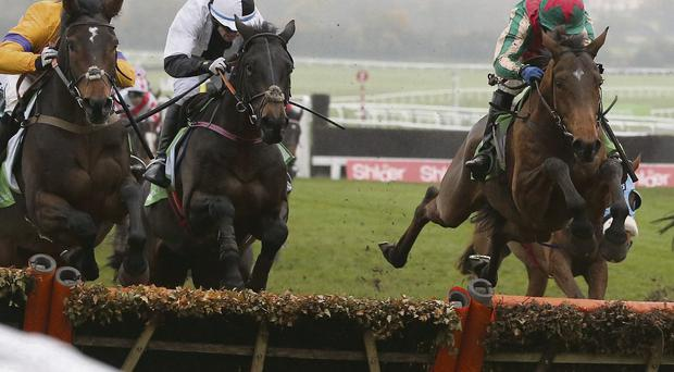 Dell' Arca on the way to victory at Cheltenham last month