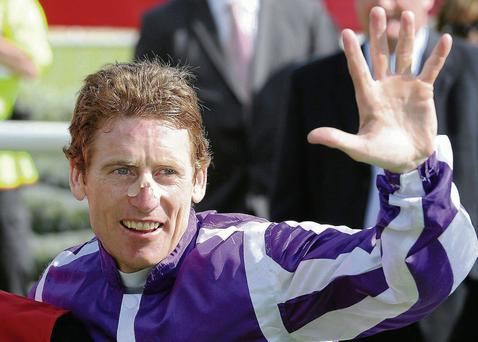 Johnny Murtagh landed his first win as a trainer