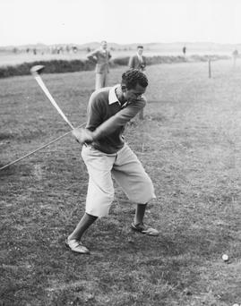 Joe Ezar successfully predicted that he would shoot 64 in the third round of the 1936 Italian Open. Picture: Getty Images.