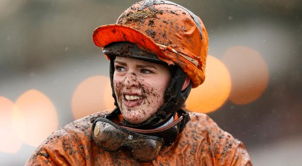 Jockey Lizzie Kelly. Photo: Getty Images