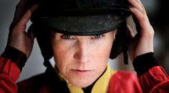 Lisa O'Neill: 'My mam and dad would always say if the horse is good enough, you're good enough.' Photo: Gerry Mooney