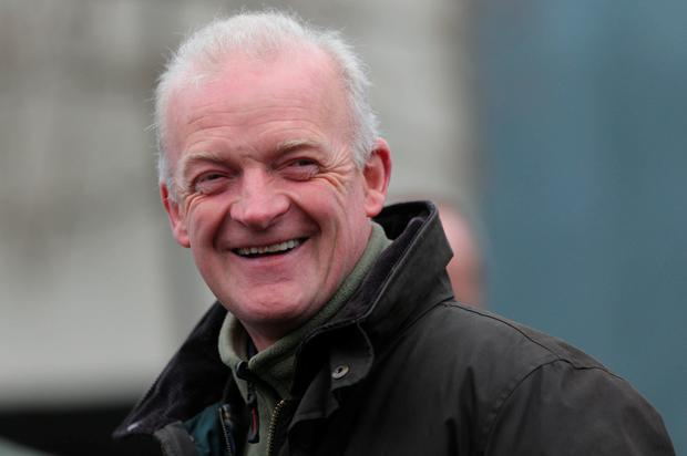 Trainer Willie Mullins was a winner at Leopardstown. Photo: PA