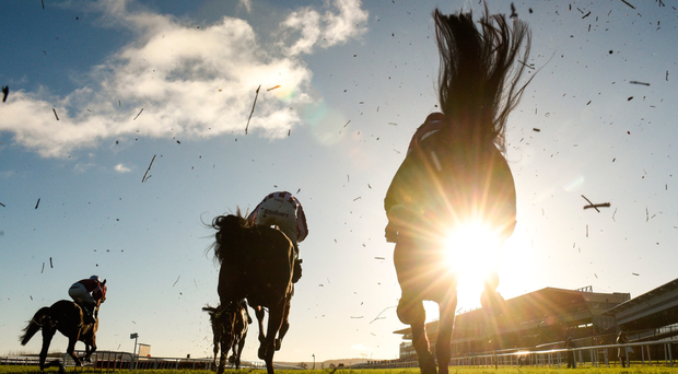 The Christmas Festival at Leopardstown was full of drama. Photo: Sportsfile