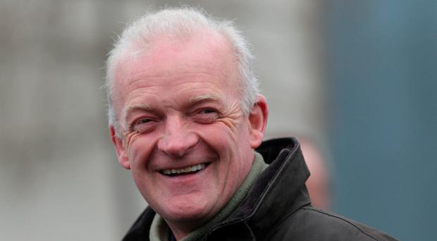 Trainer Willie Mullins. Photo: PA