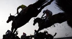 Lalor transferred all his ability from hurdles to fences as he jumped with great accuracy to run out a seven-length winner. Stock photo: Getty Images