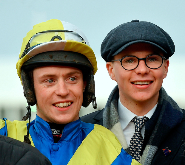 Joseph O'Brien: Sent out Master Of Reality to claim Navan feature. Photo: Sportsfile