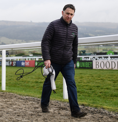 Henry de Bromhead is a pessimist by nature but he looks well placed to add to his seven Festival winners to date with the odds-makers convinced that he will be celebrating again next week. Photo: Sportsfile via Getty Images