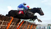 Penhill and Paul Townend sail over the last together with Supasundae (far side), under Davy Russell, on their way to victory in yesterday's Stayers' Hurdle at Cheltenham