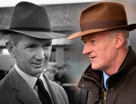 Vincent O'Brien and Willie Mullins