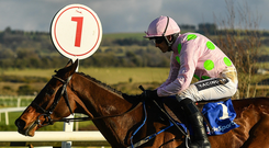 Douvan and Ruby Walsh. Photo: Sportsfile