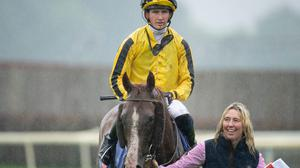 One to watch: There could be even more to come from unexposed four-year-old Sonnyboyliston as teenager Ben Coen, 19, bids to land two Classics in as many days for Johnny Murtagh. Credit: Racing Post