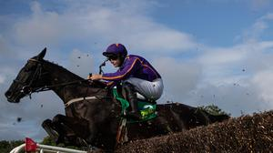 Easy Game and Paul Townend on the way to winning the Kerry Group Chase at the Listowel Harvest Festival. Photo: Patrick McCann/Racing Post