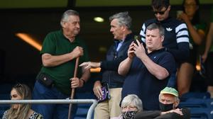 Horse trainer Gordon Elliott during the Electric Ireland All-Ireland MFC final between Meath and Tyrone at Croke Park. Photo: Stephen McCarthy/Sportsfile
