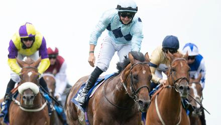 Starman and Tom Marquand will take all the beating at Haydock today. Photo: Edward Whitaker