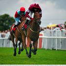 Road To Riches on the way to winning last year's Plate