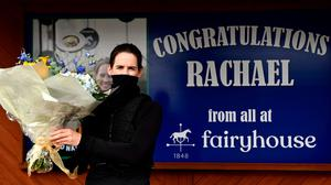 Rachael Blackmore is four wins behind Paul Townend in the battle for this year's Champion Jockey title. Photo: David FItzgerald/Sportsfile